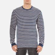 Edwin Men's Tokyo Blues Long Sleeve T-Shirt - Navy/Pink