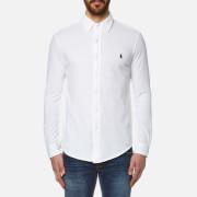 Polo Ralph Lauren Men's Button Down Oxford Shirt - White