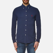 Polo Ralph Lauren Men's Featherweight Mesh Slim Fit Shirt - Navy
