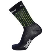 Santini Tour Down Under Adelaide Coolmax Socks 2017 - Green