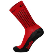 Santini Tour Down Under McLaren Vale Coolmax Socks 2017 - Red