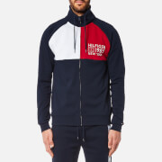 Tommy Hilfiger Men's Zipped Track Jacket - Navy Blazer
