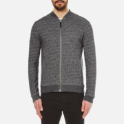 Pretty Green Men's Ranford Zip Sweatshirt - Black