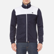 Pretty Green Men's Edzell Track Top - Navy