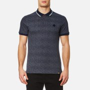 Pretty Green Men's Mayflower Short Sleeve Polo Shirt - Navy