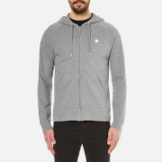 Pretty Green Men's Oxted Hoody - Mid Grey