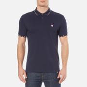 Pretty Green Men's Elmwood Short Sleeve Polo Shirt - Navy