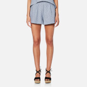 MINKPINK Women's Wanderer Shorts - Navy/White