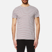 A.P.C. Men's Lane Striped T-Shirt - Gris Clair