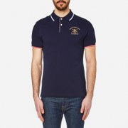 Hackett London Men's Army Pop Tipping Polo Shirt - Navy