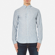 Selected Homme Men's Two Spun Long Sleeve Shirt - Papyrus