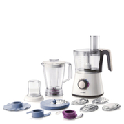 Philips HR7761/01 Viva Collection Food Processor - White