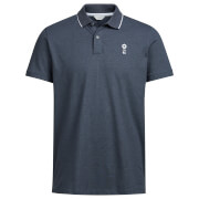 Jack & Jones Men's Core Stone Polo Shirt - Blue
