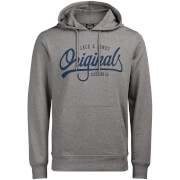 Jack & Jones Men's Originals Diego Hoody - Light Grey