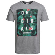 Camiseta Jack & Jones Originals Newport - Hombre - Gris
