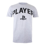 PlayStation Player Heren T-Shirt - Lichtgrijs