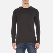Superdry Men's Orange Label High Neck Jumper - Charcoal/Black Twist