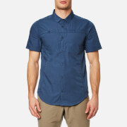 Craghoppers Men's Kiwi Trek Short Sleeve Shirt - Vintage Indigo