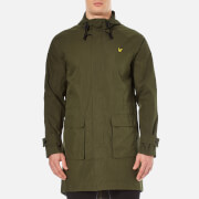 Lyle & Scott Men's Light Weight Parka Jacket - Dark Sage