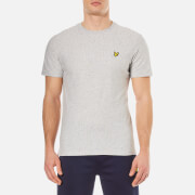 Lyle & Scott Men's Rain Jacquard T-Shirt - Light Grey Marl