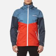 Columbia Men's Inner Limits Waterproof Jacket - Super Sonic/Steel/Zinc