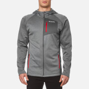 Columbia Men's Jackson Creek II Hoody - Graphite Heather/Mountain Red