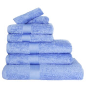 Restmor 100% Egyptian Cotton 7 Piece Luxury Towel Bale (600GSM) - Cobalt