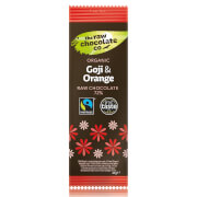 The Raw Chocolate Company Organic Goji & Orange Bar - 44g