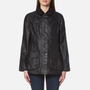 Barbour Women's Beadnell Wax Jacket - Navy