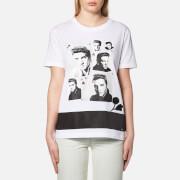 Coach Women's Elvis Collage T-Shirt - White