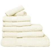 Restmor 100% Egyptian Cotton 7 Piece Luxury Towel Bale (600GSM) - Ivory