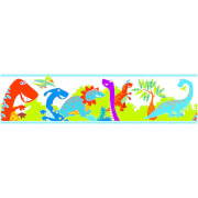 Superfresco Easy Kids' Dinoroar Dinosaur Multi Wall Border