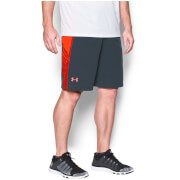 Under Armour Men's Supervent Shorts - Stealth Grey/Phoenix Fire