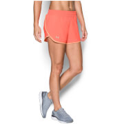 Under Armour Women's Launch Tulip Run Shorts - London Orange