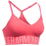 Under Armour Women's HeatGear Seamless Sports Bra - Perfection Pink