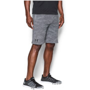 Under Armour Men's Sportstyle Camo Fleece Shorts - Steel/Black