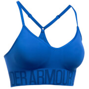 Under Armour Women's HeatGear Seamless Sports Bra - Royal