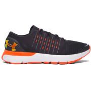 Under Armour Men's SpeedForm Europa Running Shoes - Black/Phoenix Fire