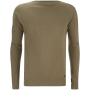 Threadbare Men's Sanders Textured Knit Jumper - Green