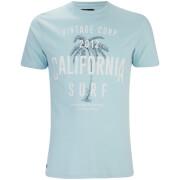 T-Shirt Paradise Col Rond Threadbare -Bleu