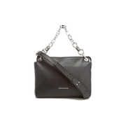 MICHAEL MICHAEL KORS Women's Gianna Medium Convertible Messenger Bag - Black