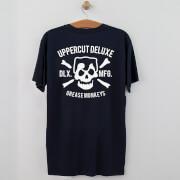 Uppercut Grease Monkey Lives T-Shirt - Navy/White Print