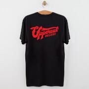 057cf6367d9e1e Uppercut Jersey T-Shirt - White/Black Print | HQ Hair