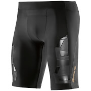Skins A400 Men's Compression Half Tights - Oblique