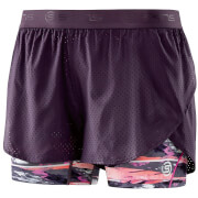 Skins DNAmic Women's Superpose Shorts - Strata