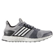 adidas Men's Ultra Boost ST Running Shoes - Grey