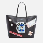 Karl Lagerfeld Women's K/Jet Karl Shopper Bag - Black
