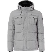 Jack & Jones Men's Core Wills Ultimate Padded Jacket - Light Grey Melange