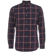 Jack & Jones Originals Men's Larson Long Sleeve Check Shirt - Port Royale