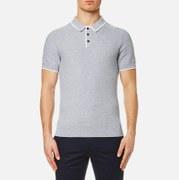 Michael Kors Men's Tuck Stitch Tip Polo Shirt - Heather Grey